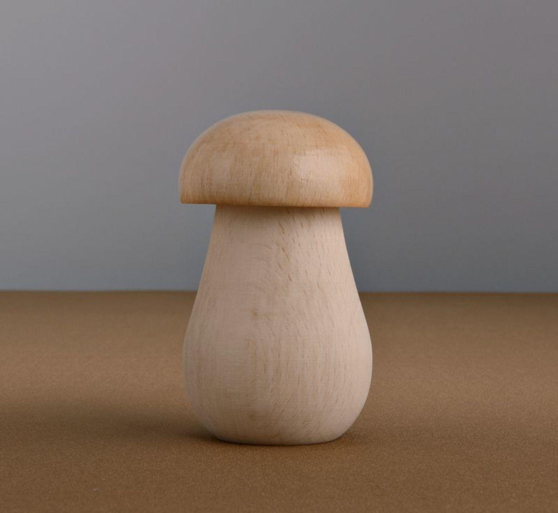 Wooden nutcracker Mushroom photo 3