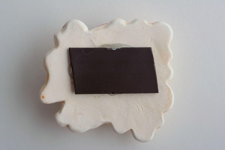 Clay fridge magnet Mice photo 3