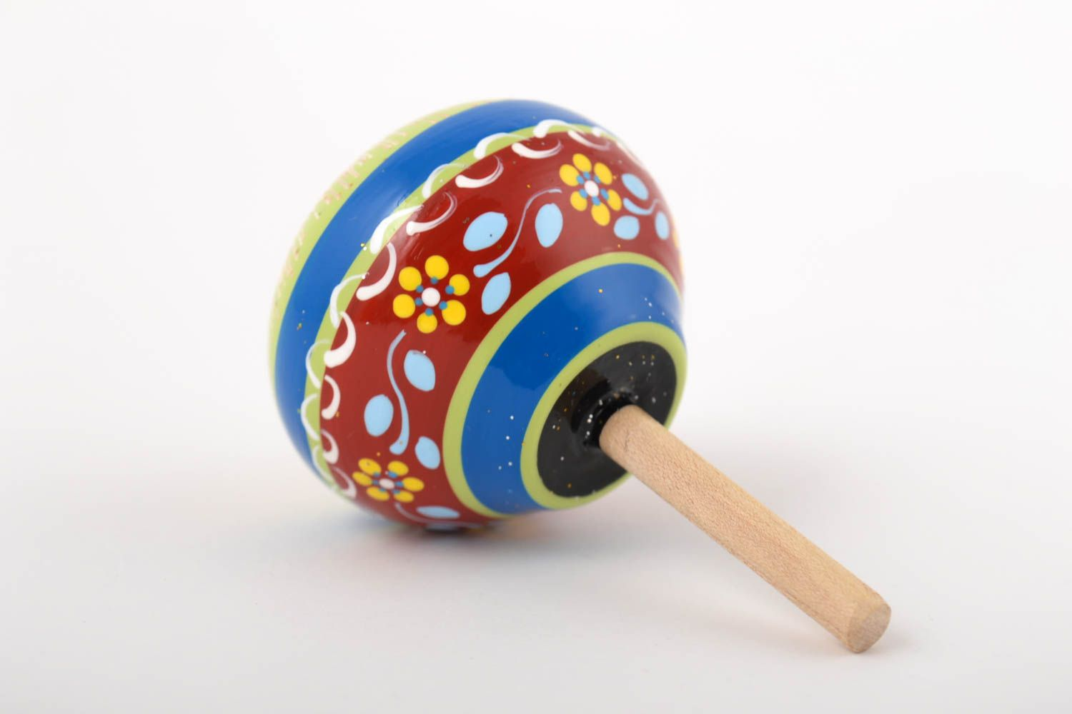 Toys for kids handmade toys spinning tops wooden humming tops gifts for kids - MADEheart.com