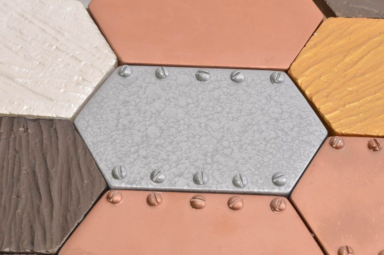 Homemade plaster wall tile kitchen backsplash tile mosaic art mosaic tile