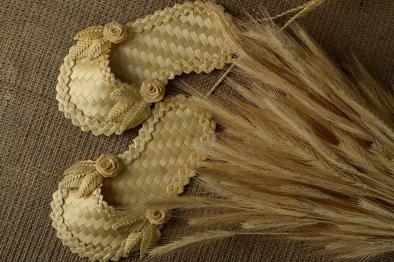 плетение из соломки фото агат