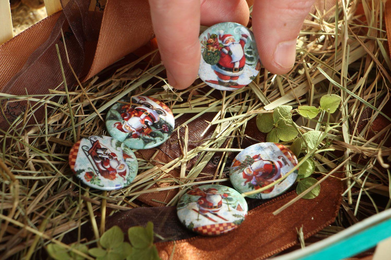 Set of Christmas badges photo 5