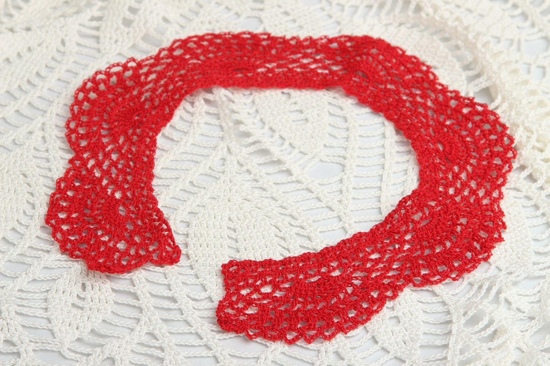 85d42a26b0e9 cuellos Cuello tejido a ganchillo accesorio de moda hecho a mano regalo  original - MADEheart.