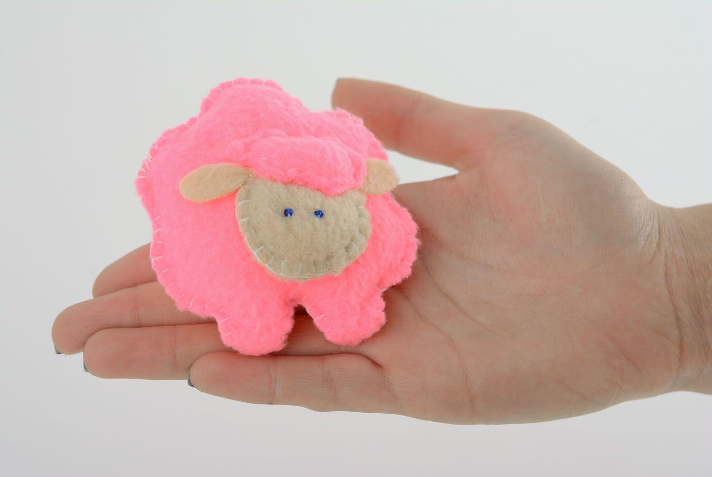Soft fabric toy Pink Sheep photo 4
