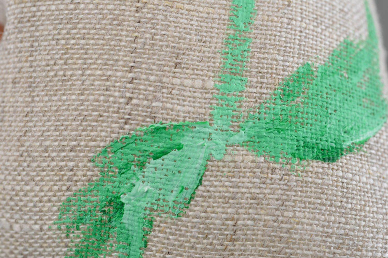 Soft textile sachet sack handmade souvenir for home cute interior details photo 5