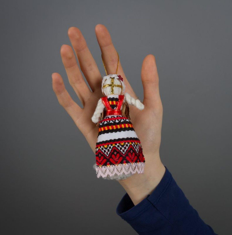 Motanka doll with an eyelet photo 1
