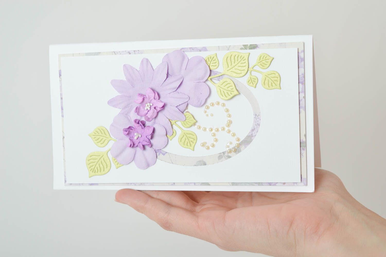 Handmade greeting card birthday card thank you card handmade gifts souvenir idea photo 5