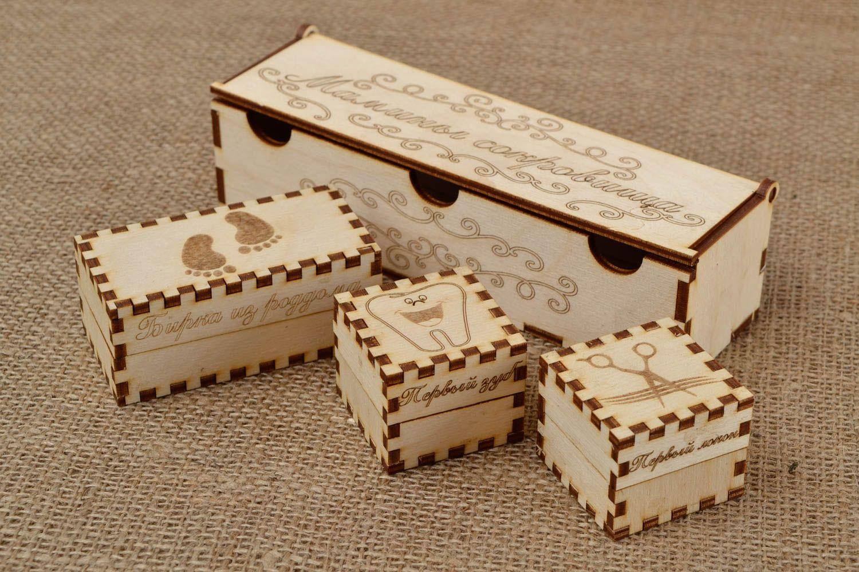 Madeheart cajas de madera para decorar artesanales articulos para pintar regalo original - Cajitas de madera para decorar ...