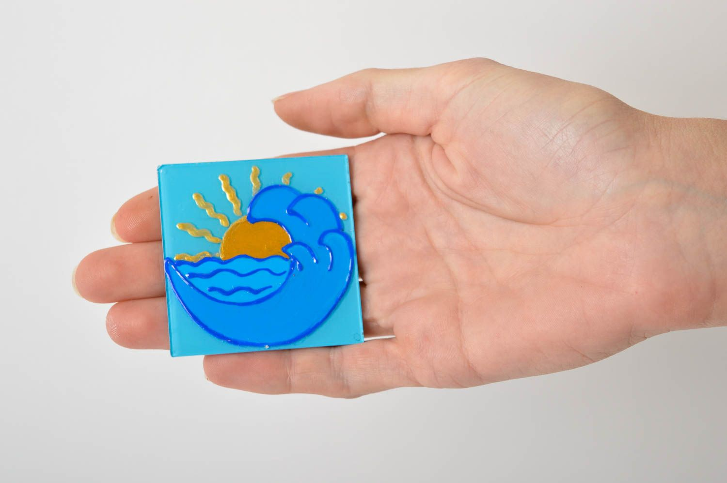 Unusual handmade fridge magnet funny magnets small gifts decorative use only photo 5