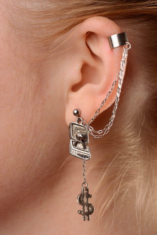 Homemade cuff earrings Proposal photo 3