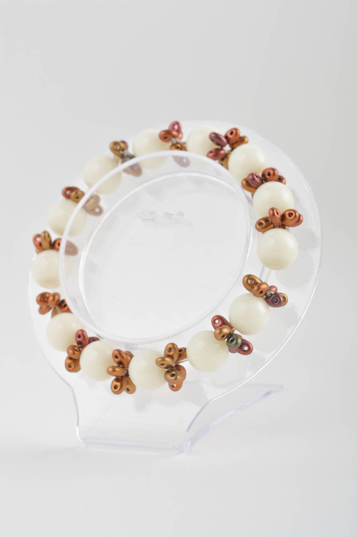Wrist bracelet handmade jewellery bead bracelet fashion accessories gift for her photo 3