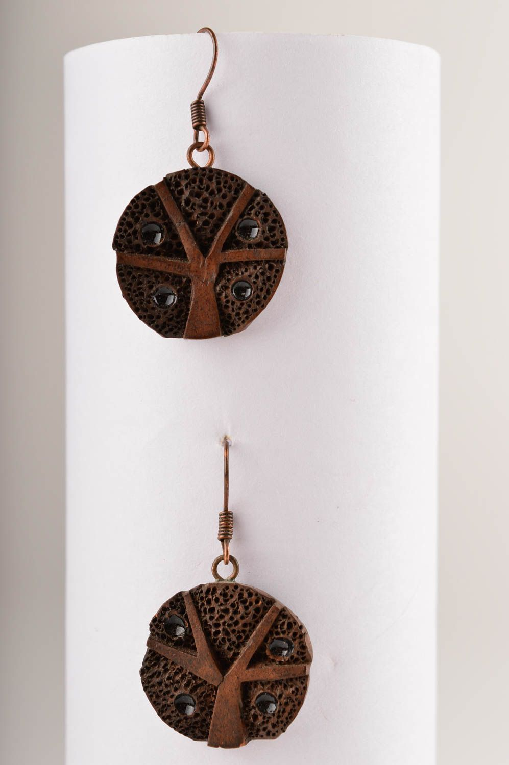 Ceramic jewelry handmade earrings gifts for women fashion accessories photo 1