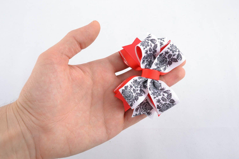 Schleife für Haarspange aus Bändern Amerika foto 4