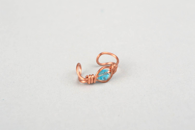 Ear cuff, wire wrap foto 3