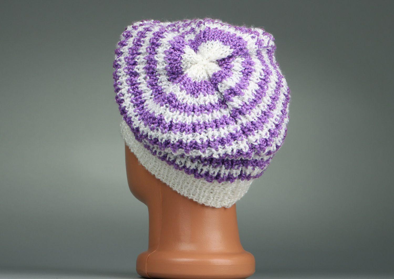 headwear Knitted women's beret - MADEheart.com