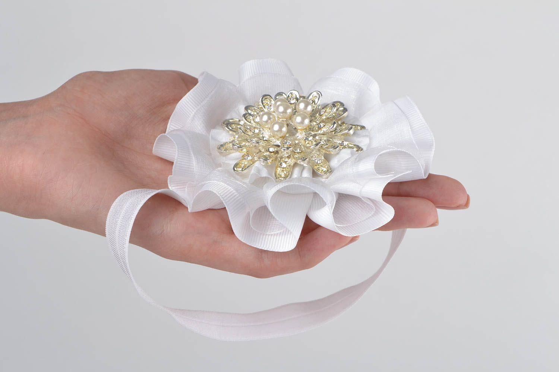 Handmade headband designer headband accessory for hair flower headband photo 2