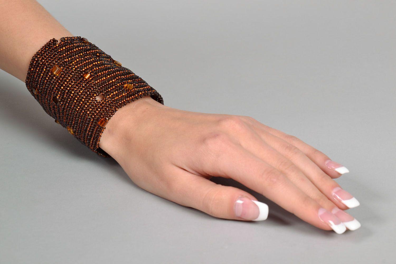 Beaded wrist bracelet photo 5