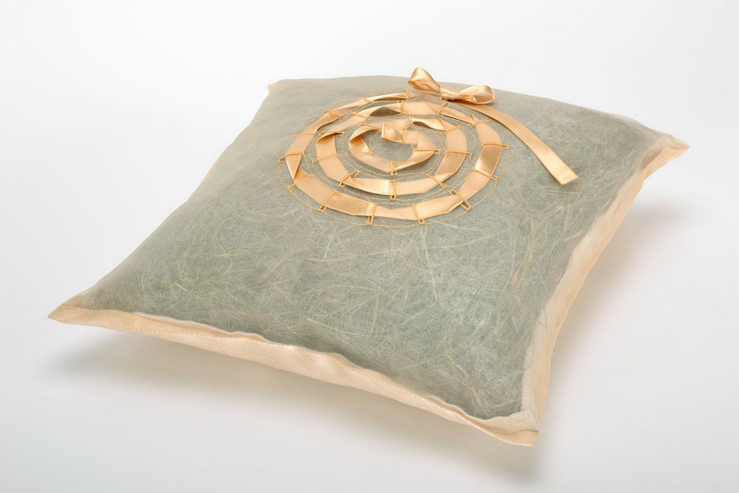 Herb pillow with pillow-case photo 2