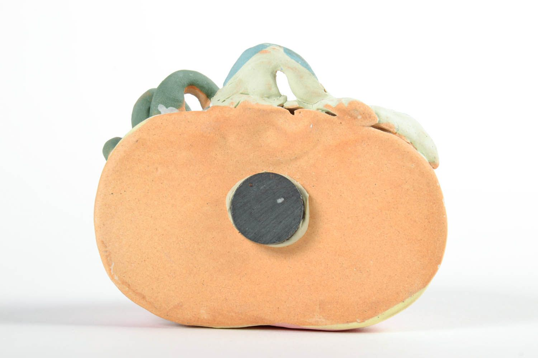 Ceramic fridge magnet Pumpkin photo 5