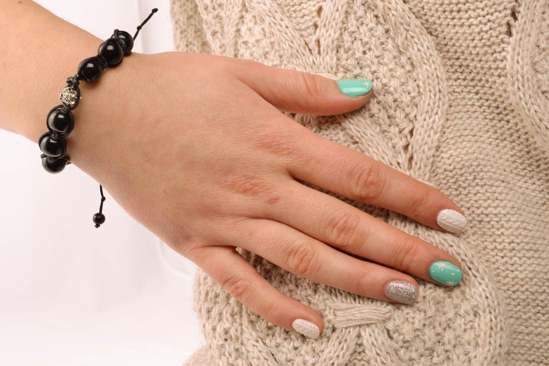 Wrist bracelet with beads photo 5