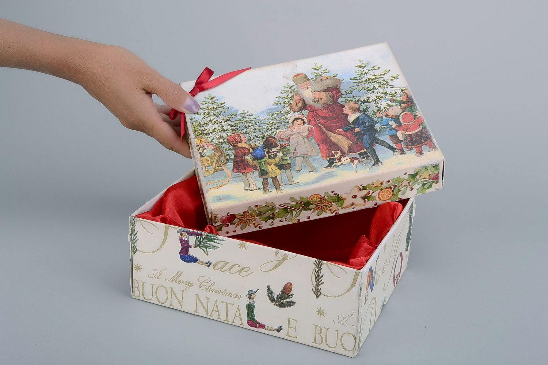 Декупаж коробки своими руками