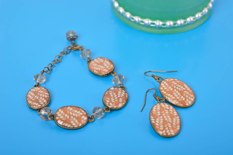 Handmade Damen Accessoires stilvoll Schmuck Armband Geschenk für Frauen schön foto 1