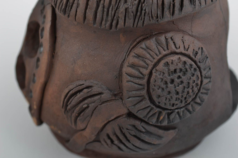 Beautiful handmade designer ceramic aroma lamp and 2 money boxes gift set photo 3