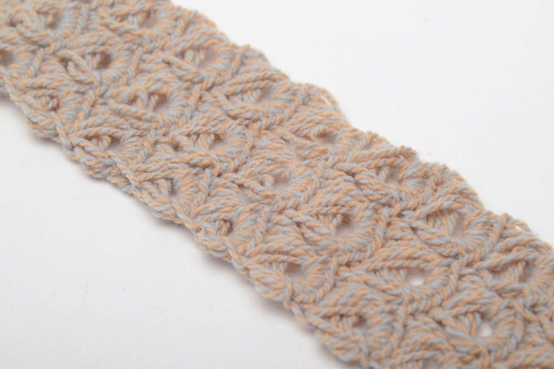 Hand crochet bracelet photo 4