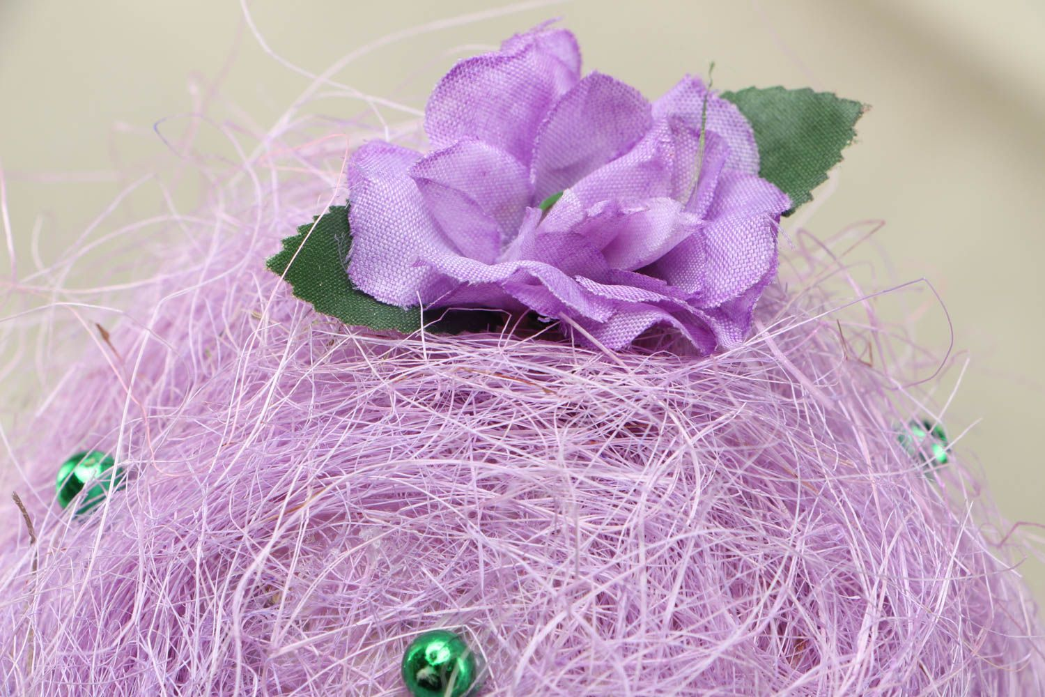 Handmade tree of happiness of lilac color photo 2