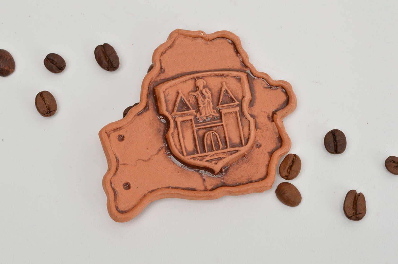 Beautiful homemade clay fridge magnet stylish ceramic magnet souvenir ideas photo 1