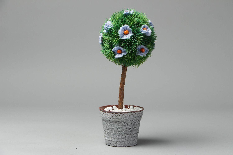 Декоративные деревья счастья топиарии