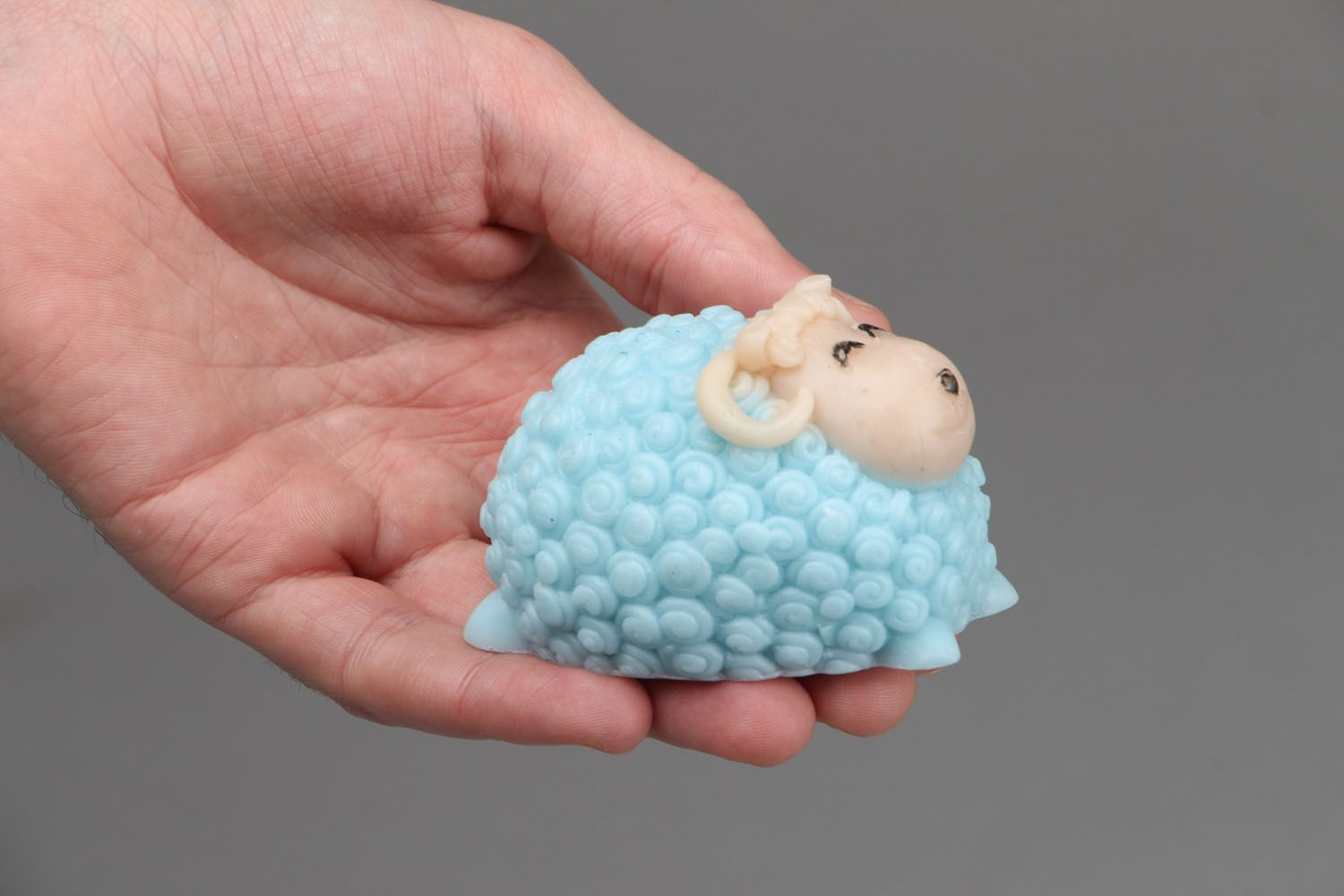 Natural soap in the form of a lamb photo 3