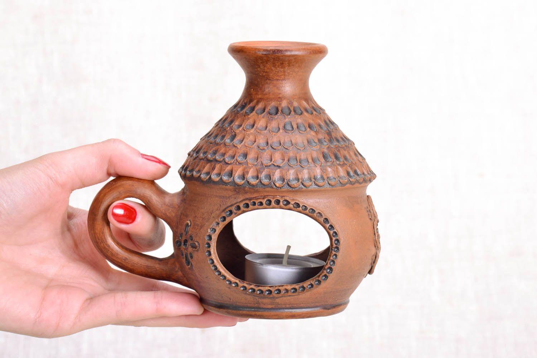 Ceramic handmade aroma lamp photo 5