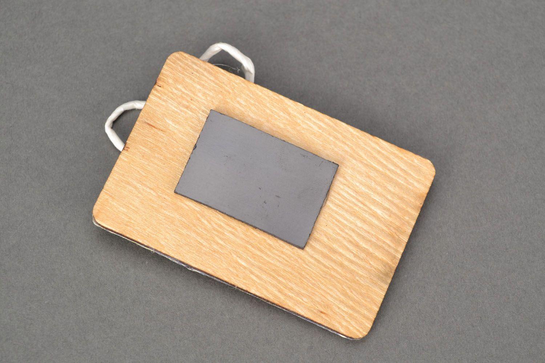 Fridge magnet with decoupage photo 3