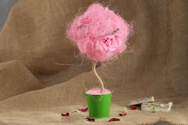 Pink handmade topiry photo 5