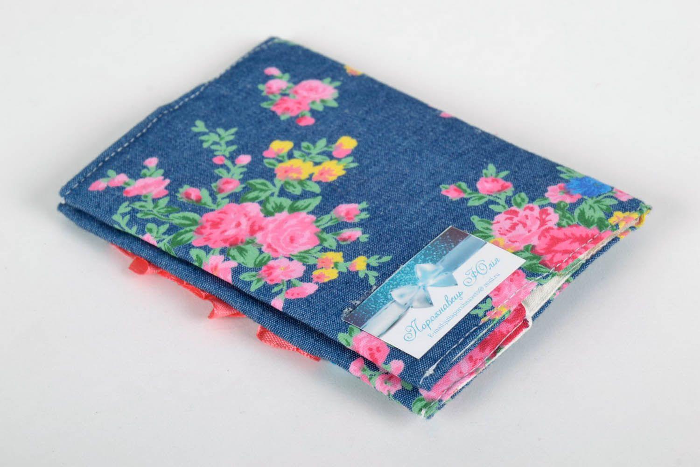 Fabric passport cover photo 4