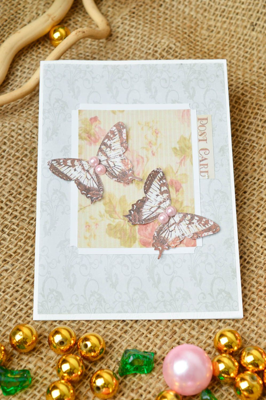 Handmade greeting card unique gifts souvenir ideas designer postcards photo 1