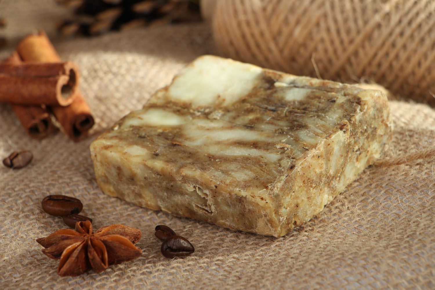 Herbal soap with essential oils photo 5
