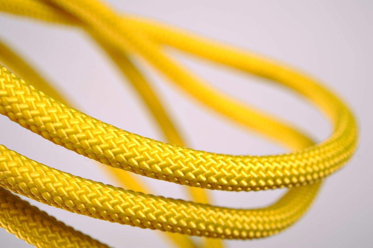 Rope with knot for yoga practice  photo 4