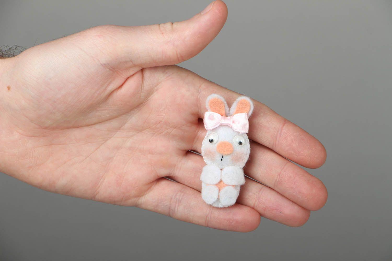 Felt fridge magnet Rabbit photo 4
