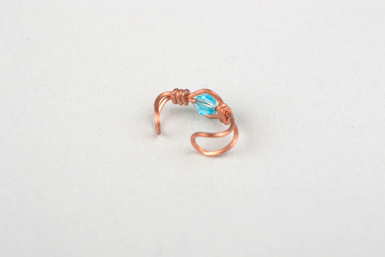Ear cuff, wire wrap foto 4