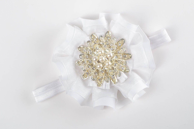 Handmade headband designer headband accessory for hair flower headband photo 3