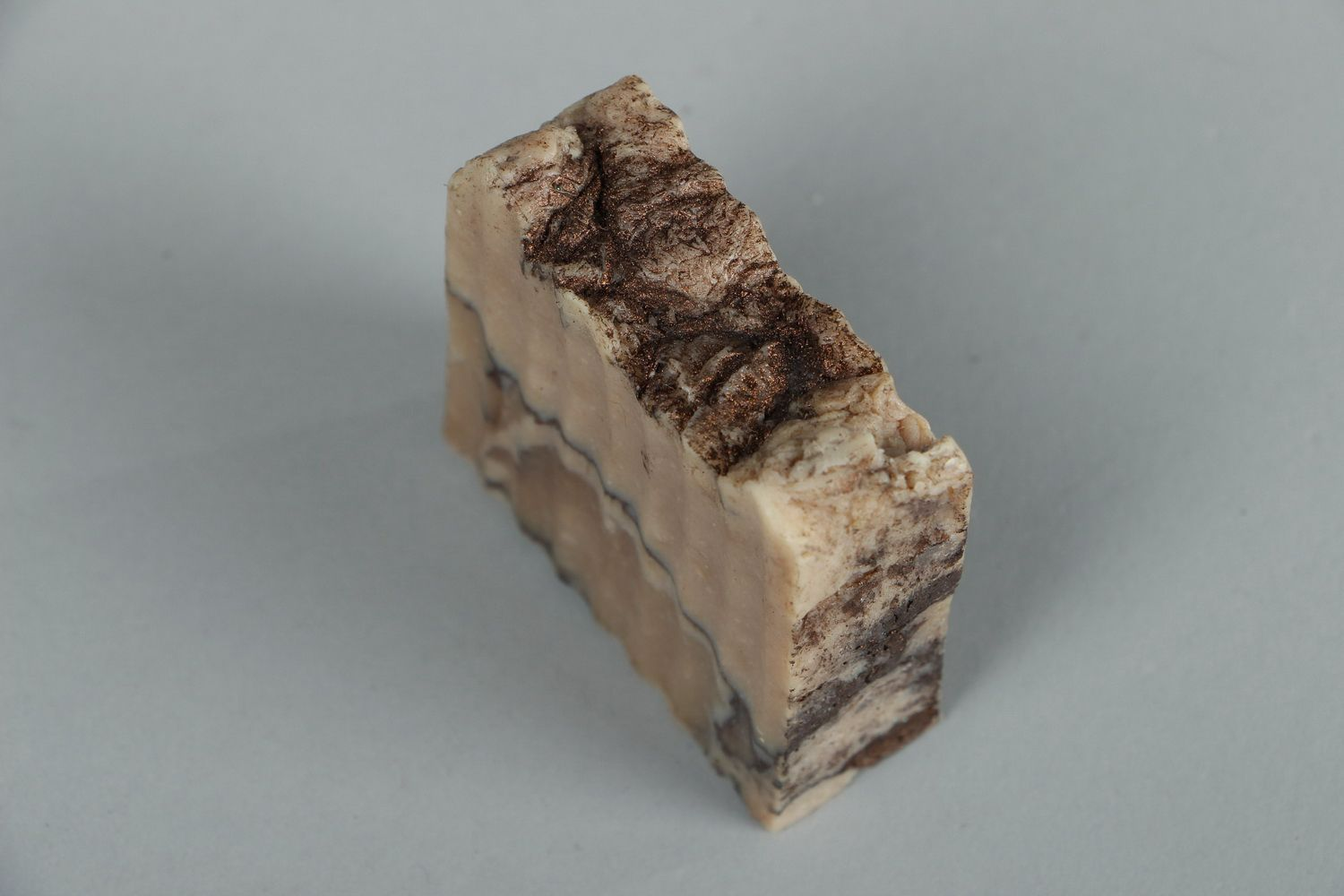 Handmade soap with almond oil photo 3