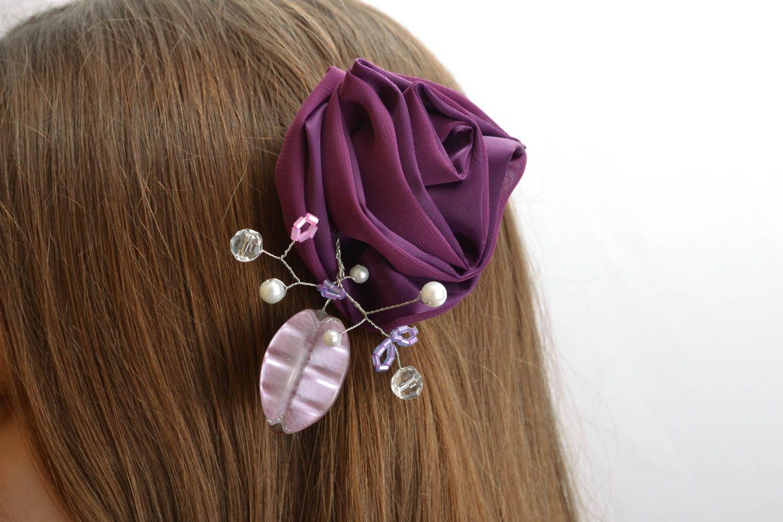 Fabric hair clip photo 5