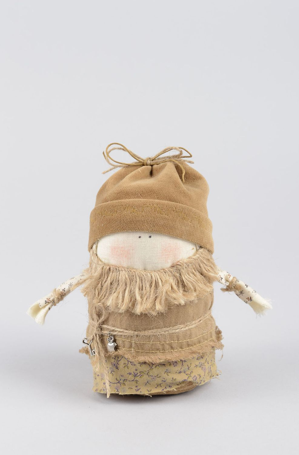 Handmade decorative doll primitive doll housewarming gifts for decorative use photo 1