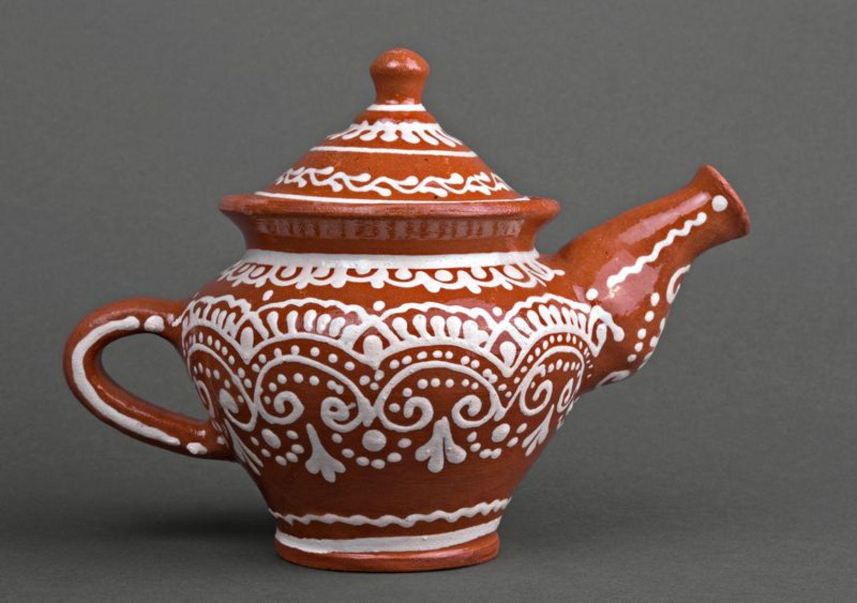 Clay teapot photo 1