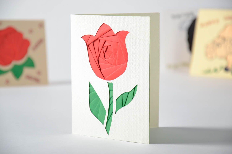 Маленькая открытка из бумаги, картинки парню