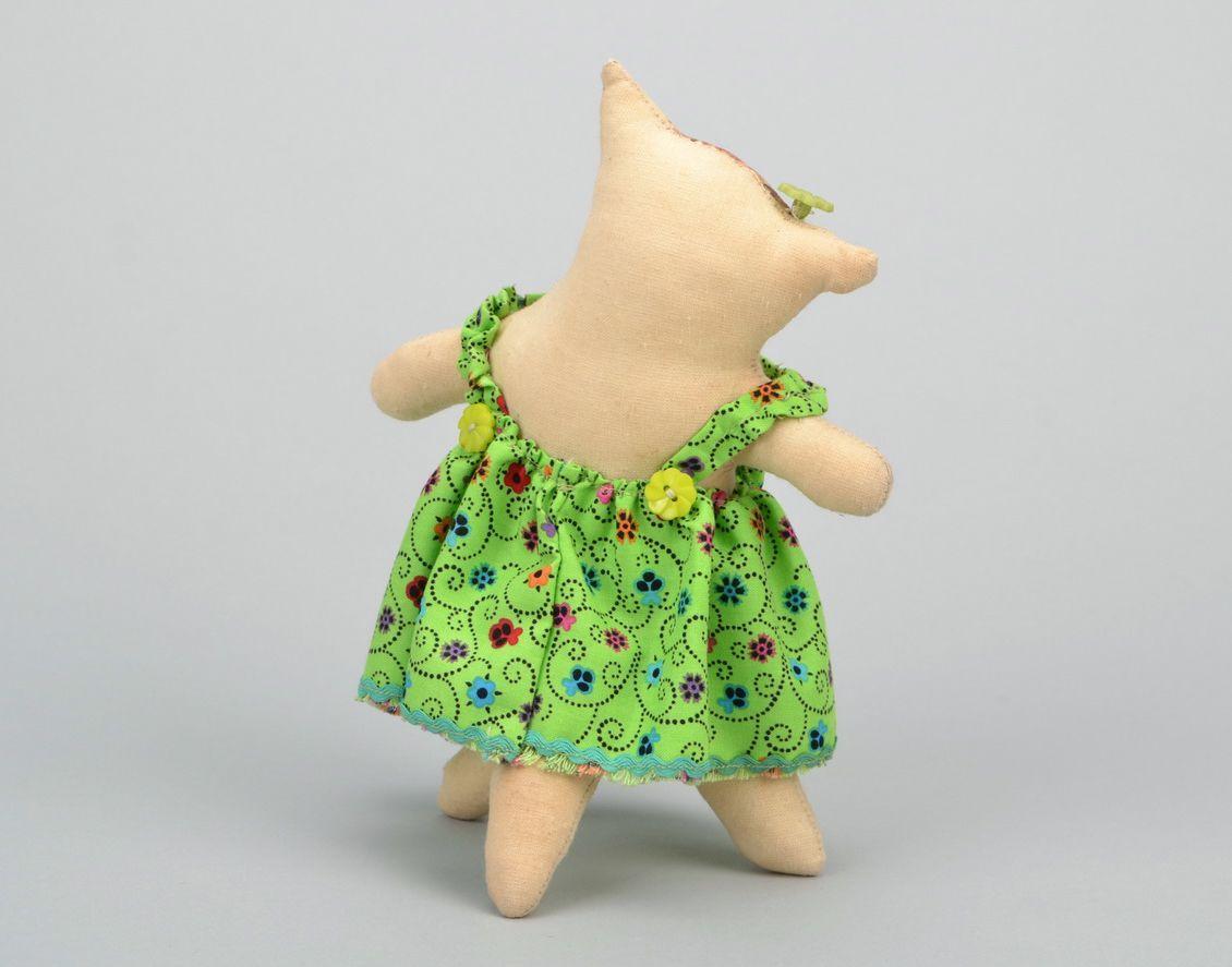 Handmade toy Cat photo 5