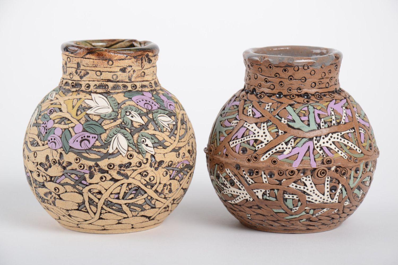 Вазы глиняные для цветов