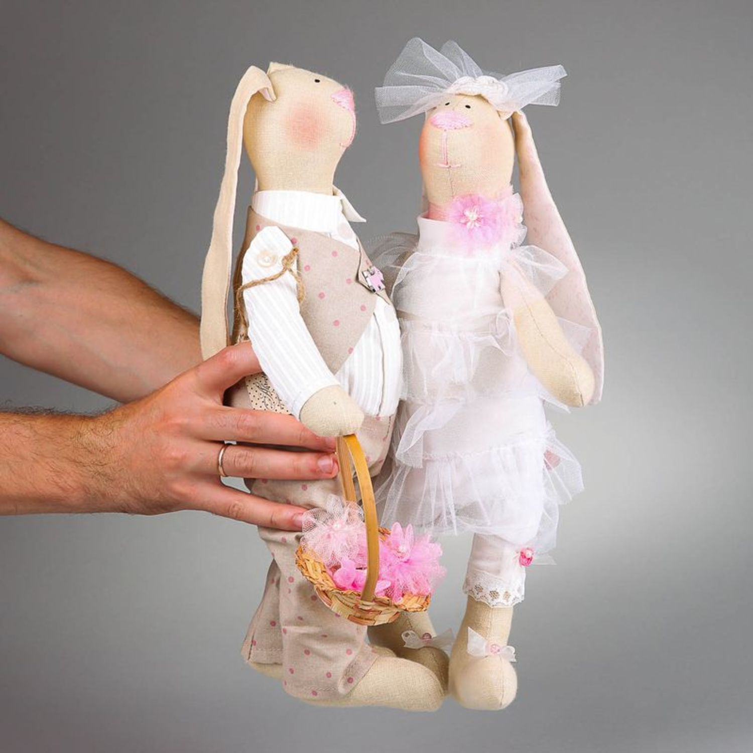 Set of soft toys Just married photo 3